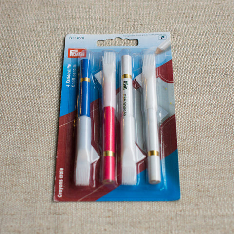 Tailors chalk pencils, 4 pack