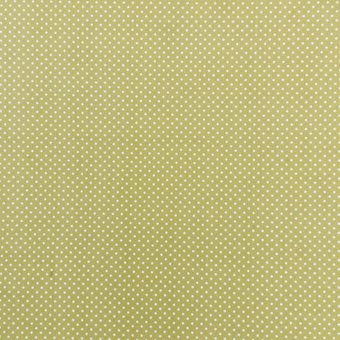 Polka Dot Cotton: Sage Green