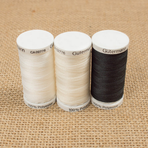 Gutermann thread: 250m (Various colours)
