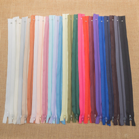 35cm Zip (Various Colours)