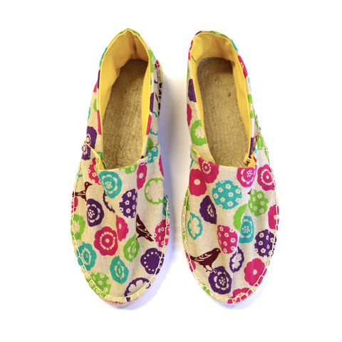 Make your own Espadrilles (John Lewis, London)