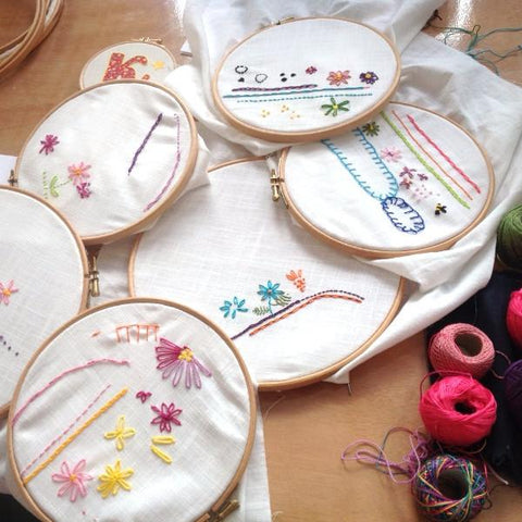 Learn Hand Embroidery (The Makery, Bath)