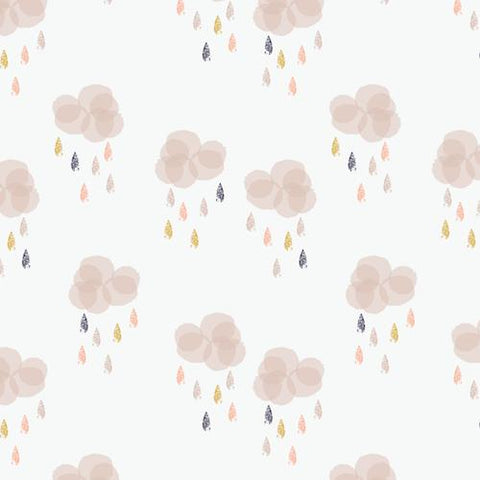 Rain Clouds. Fabric by Dashwood