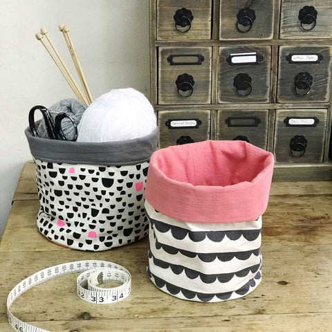 Make a Fabric Storage Basket (The Makery, Bath)