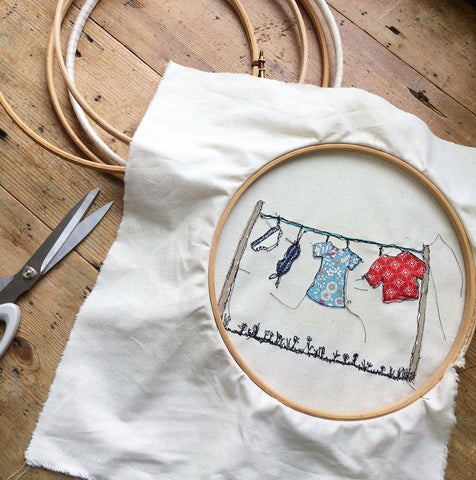 Learn Free-Machine Embroidery (The Makery, V V Rouleaux, Bath)