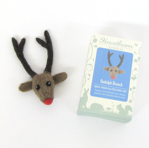 Rudolph Needle Felting Kit