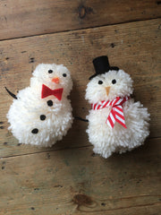 KIDS: Make your own Pom Pom Snowman! (The Makery, Bath)