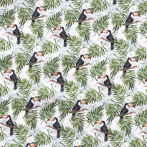 Rainforest Toucan Fabric