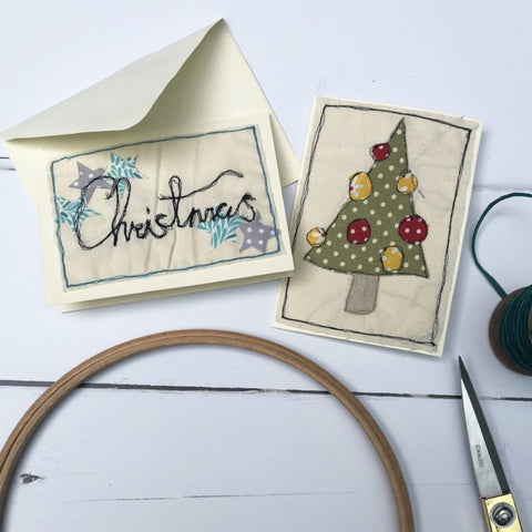 Christmas Free Machine Embroidery (The Makery, Bath)