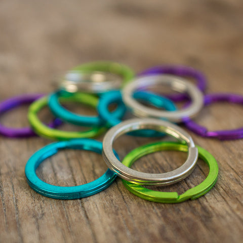 Keyring / Split Ring (Various colours)