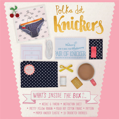Make a Pair of Knickers Kit