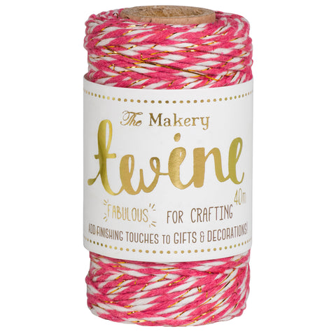 Twine: Strawberry & Gold