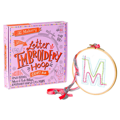 Make an Embroidery Hoop Kit