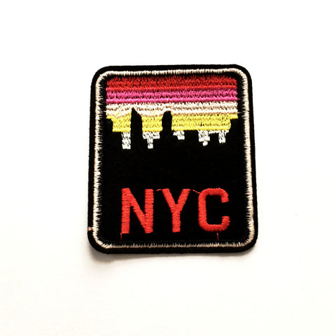 Iron-on Patch: NYC Sunset