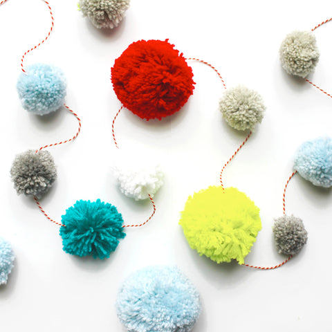 Pom-Pom Garland £10 Workshop (The Makery, Bath)