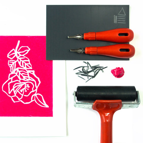 Learn Print Making, Print your own Christmas Cards (The Makery, Bath)