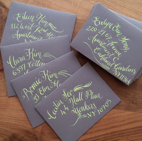Hand Lettering Calligraphy Workshop with Meticulous Ink (The Makery, Bath)