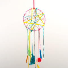make a dreamcatcher workshop