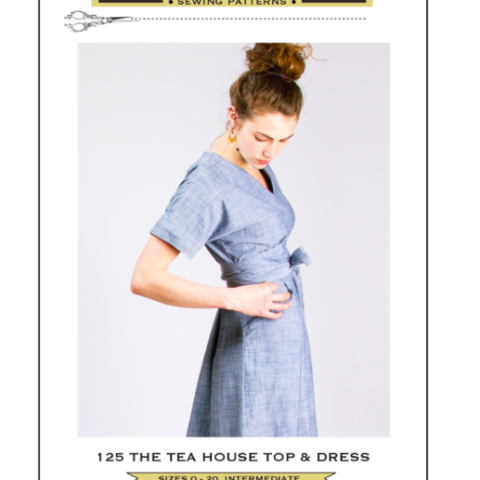 Tea House Top & Dress Pattern: Sew House Seven