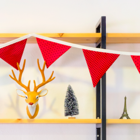 Christmas Bunting: Learn to Sew Workshop (The Makery, Bath)