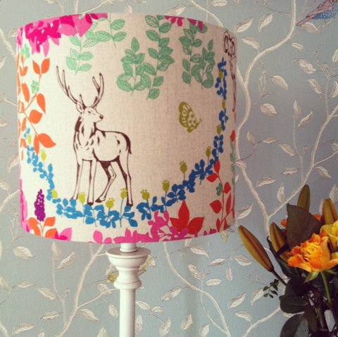 Drum Lampshade Making