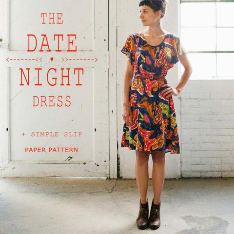 The Date Night Dress Pattern: April Rhodes