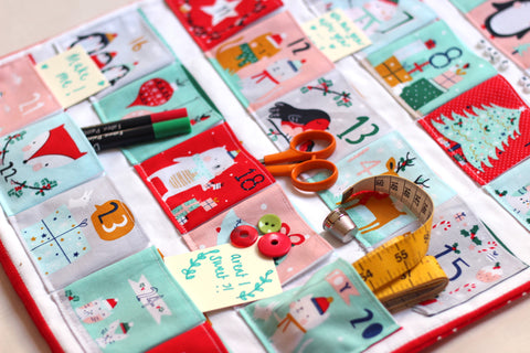 Make Your Own Advent Calendar! (John Lewis, London)