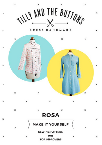 Tilly and the Buttons Dressmaking Pattern: Rosa
