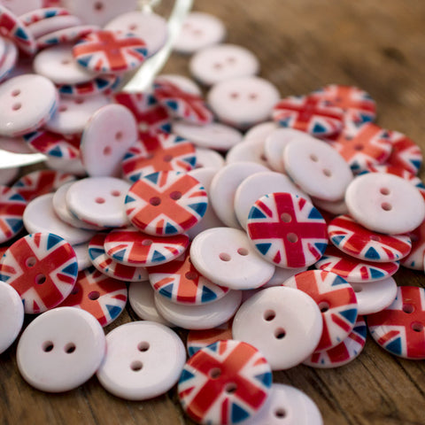 Button: Union Flag REDUCED!