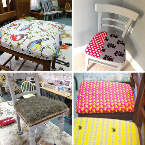 Learn Furniture Upholstery - An Introduction (The Makery, Bath)