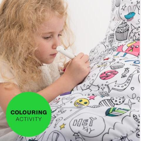 Colouring-In Fabric