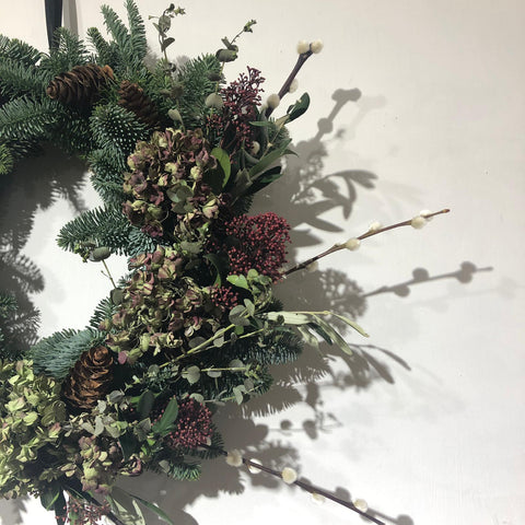 Floristry Workshop: Make a Christmas Wreath (The Makery, Bath)