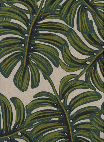 Monstera Natural by Rifle Paper Co. Fabric