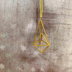 Make Himmeli Christmas Decoration (The Makery, Bath)