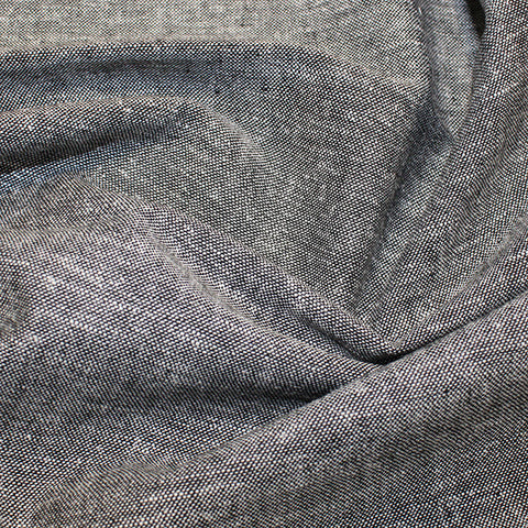 New Yarn Linen Viscose: Black Marl