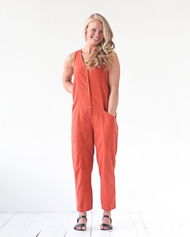Yari Jumpsuit Pattern: True Bias