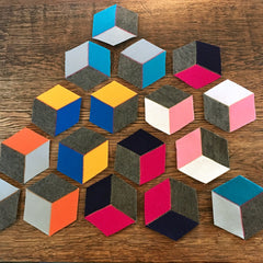 Geometric Coasters Workshop (The Makery Bath)