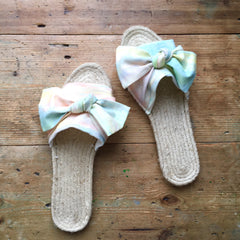 Make your own Espadrille Sliders (The Makery, Bath)