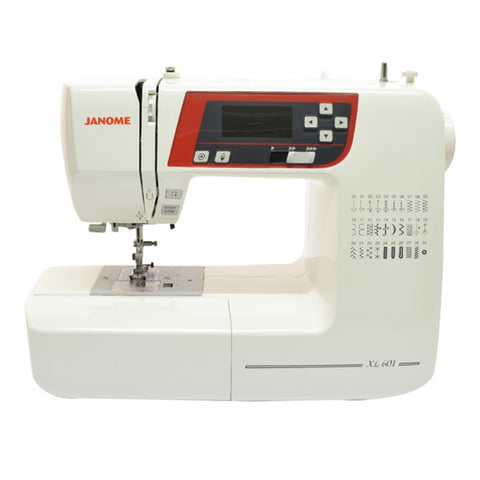 Sewing Machine: Janome XL601 (FREE delivery & FREE £40 workshop!)