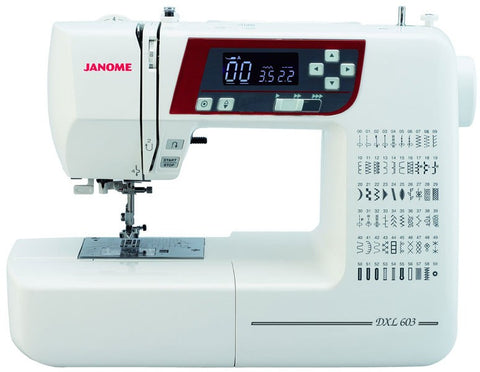 Sewing Machine: Janome DXL603 (FREE delivery & FREE £40 workshop!)