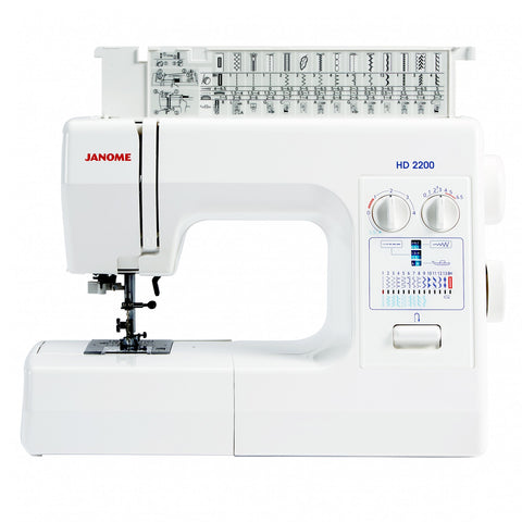 Sewing Machine: Janome HD2200 (FREE delivery & FREE £40 workshop!)