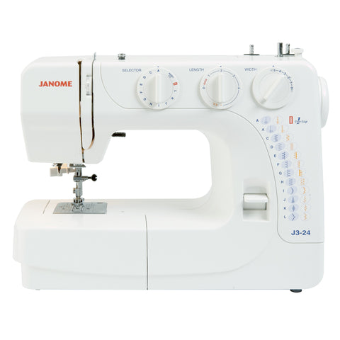 Sewing Machine: Janome J3-24 (FREE delivery & FREE £40 workshop!)