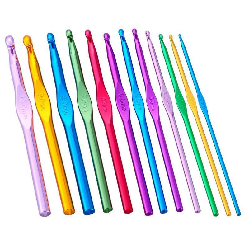 Metal Crochet Hook Various Sizes Colours The Makery