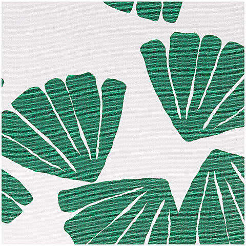 Leaf Print Canvas Fabric