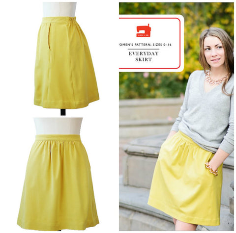 Everyday Skirt Pattern: Liesl & Co