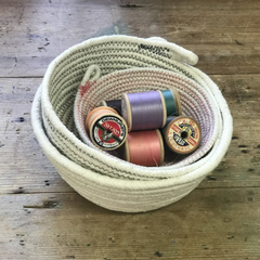 Sew a Set of Rope Bowls (The Makery, Bath)