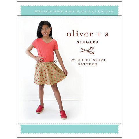 Oliver + S Swingset Skirt Pattern (Age 6m - 14yrs)