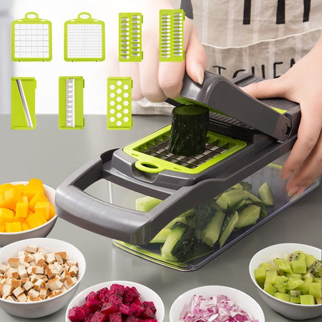 Upgrade Multifunction Vegetable Cutter - WuLee Chef - WuLee Chef