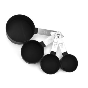 Silicone Wood Turner Soup Spoon Spatula Brush Scraper Pasta Server Gloves Egg Beater Black Kitchen Cooking Tools Kitchenware - WuLee Chef