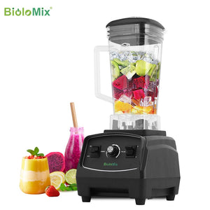 BPA Free 3HP 2200W Heavy Duty Commercial Grade Blender Mixer Juicer High Power Food Processor Ice Smoothie Bar Fruit Blender